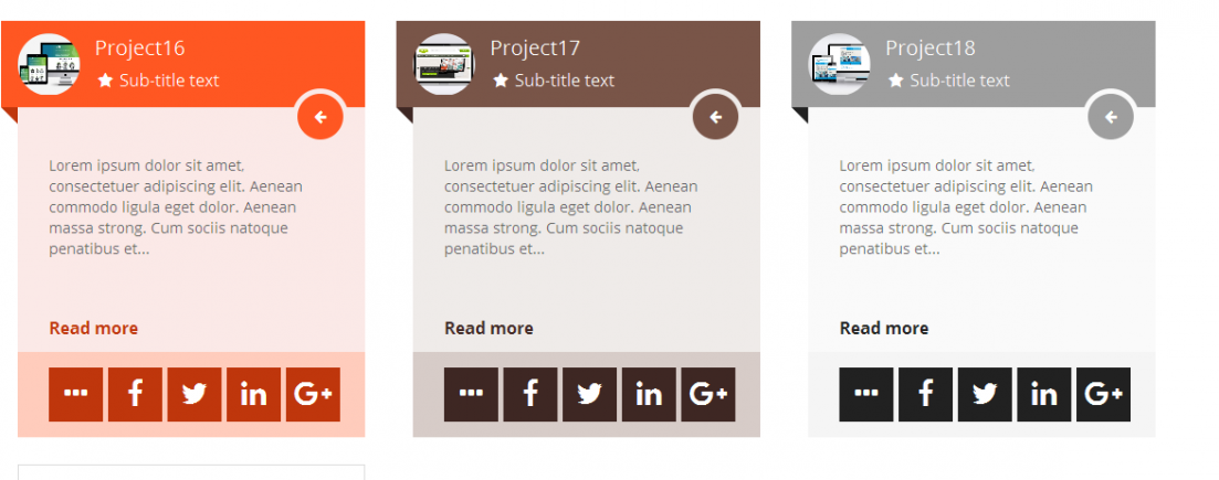material cards catalog easy layout plugins typesetter cms