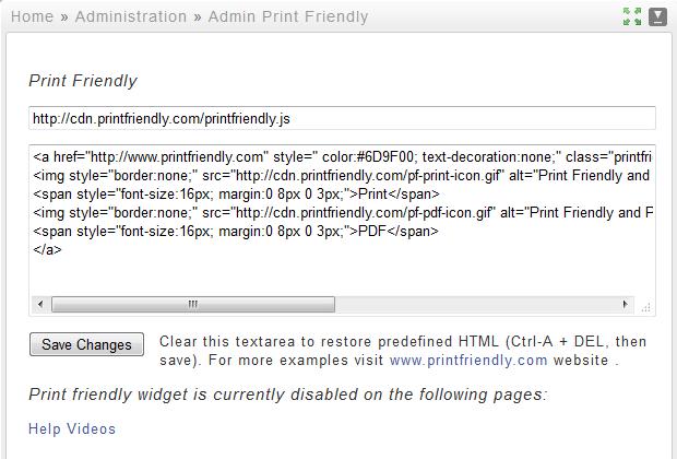 Print Friendly « Plugins - Typesetter CMS