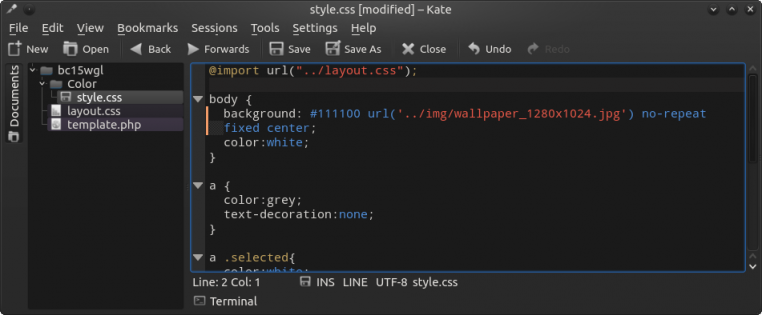 Use multiple css files themes typesetter cms the color css is in a subfolder color and references the positioning css in the first line malvernweather Images